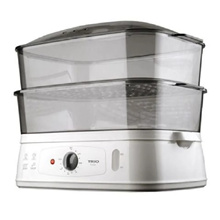 [CHEAPER AFTER APPLIED COUPON DISCOUNT] - Trio Food Steamer TFS 18 (1 Year Warranty by TRIO) // READY STOCKS // FREE EXPRESS DELIVERY
