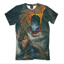 NEW T-shirt full print League of Legends Jhin cool designe HQ full print