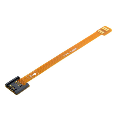 FPC material testing jig micro SIM mobile card transfer standard big SIM  card public to mother exten