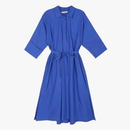 エッコノシンプルなシャツや綿ワンピースATDR7C111 面ワンピース/ 韓国ファッション