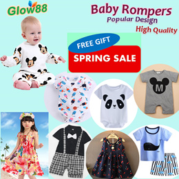 dbccca5b08b Restock 14Apr2019  100% Cotton Baby Rompers Baby Party Gifts Baby Birthday