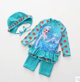 BABY/KIDS SWIMSUIT/swimwear/swimming wear/girl/Children★UV Sun Protection/Swim diapers/Swimming Suit