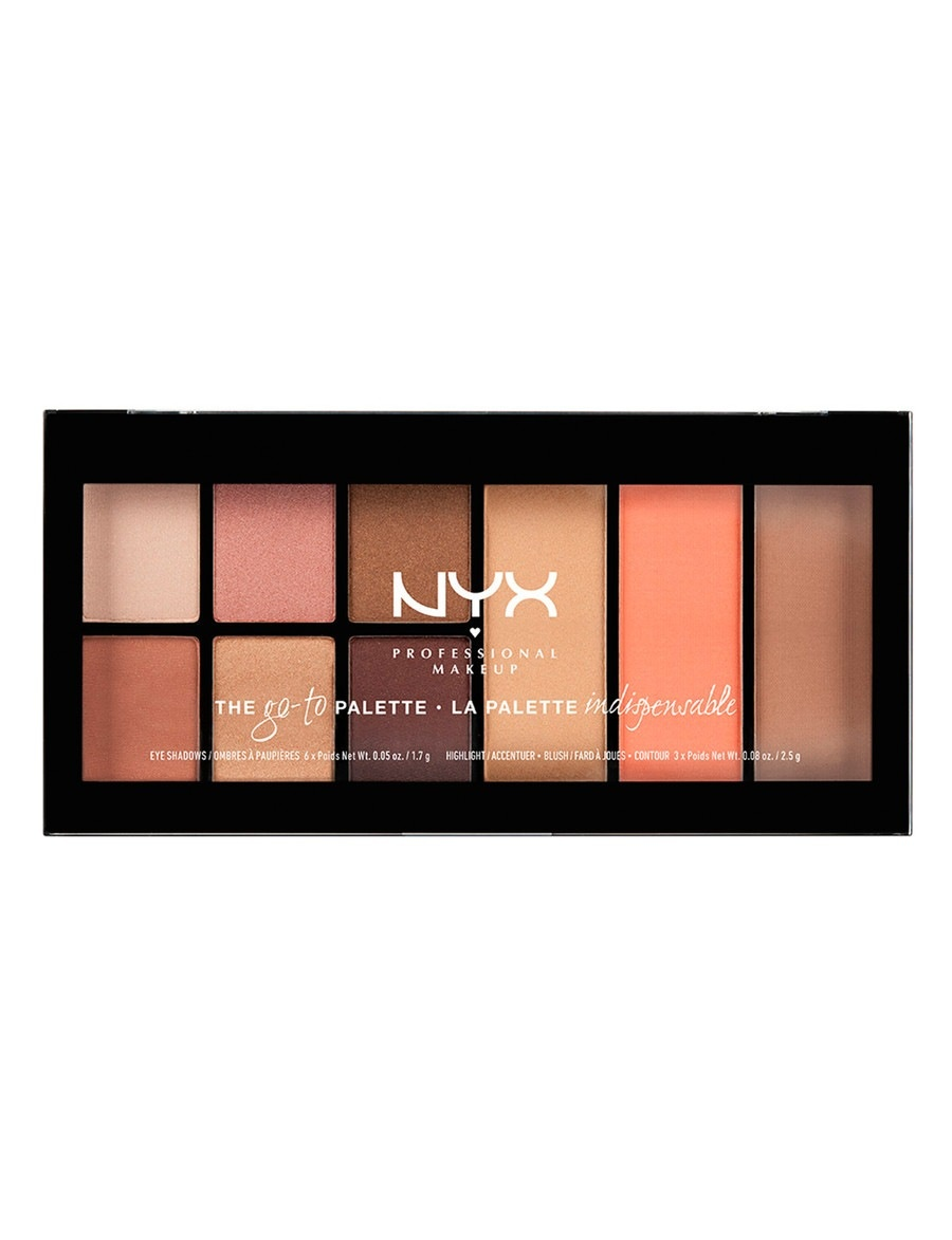 actual size. prev next. NYX Professional Makeup Go-To-Palette Wanderlust ...
