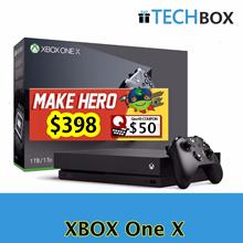 XBOX ONE X 1TB Black | 4K gaming | Local Set MICROSOFT | LOCAL 1 YEAR SG warranty |