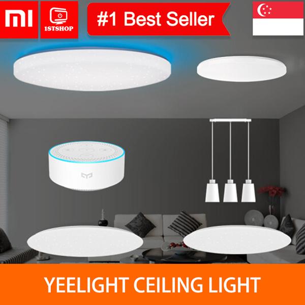 YEELIGHT OFFCIAL STORE [Lampu Langit-langit Xiaomi] - Lampu Pertama Dunia untuk Mendukung kedua WiFi