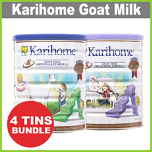 [KARIHOME] 900g Goat Milk Powder ★ From New Zealand ★ for Kids 12m+ or 3yo+ BUNDLE OF 4