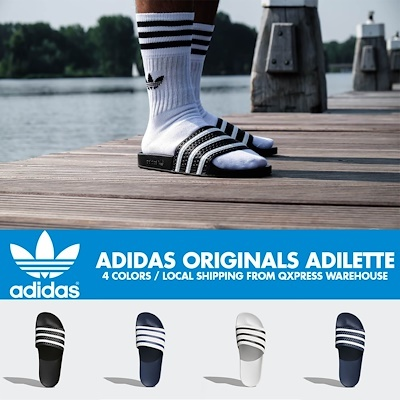 [ADIDAS] Harga pipih ADDILETTE 4 Warna sandal Deals for only Rp285.100 instead of Rp559.020