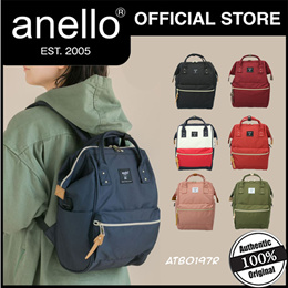 [NEW COLLECTION] anello® Kuchigane Backpack (S) | Cross Bottle REPREVE® ATB0197R