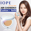 [IOPE] ★2017 ALL NEW Air Cushion / 4 types 4 colors Cushion + Refill ☆Qoo10 Lowest Price + Freeshipp