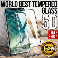 ★WORLD-BEST★ 5D Tempered Glass★iPhoneX/XR/XS/XSMax/8/8Plus/7/7Plus/Note9/Note8/S9/S9Plus/S8/S8Plus★