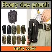 sales pouch with sling strap waist pouch for led torch card holder backpack army military style