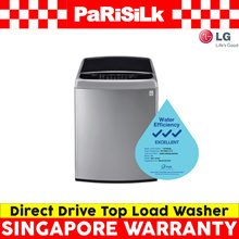 LG WFT1181DD Direct Drive Top Load Washer with Warm Wash (11KG) - Singapore Warranty