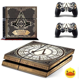 Assassins Creed Syndicate play 4 Skin 1Set Vinyl Decal Skin For play  station 4 Console PS4 adf43c5813c