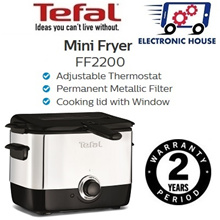 ★ Tefal FF2200 Mini Fryer ★ (2 Years Warranty)