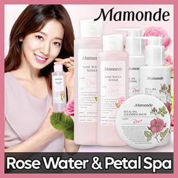 ♡ Mamonde ♡ Rose Water & Petal Spa (Toner / Cleansing Foam / Cleansing Oil / Cleansing Balm)