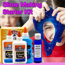 Slime Making Starter Kit Set with Elmers Glue