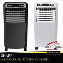 SHARP Air Cooler PJ-A55TY-B/W_Ice Pack_Remote Control_Free Ongkir Jadetabek
