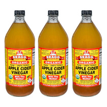 Bragg Organic Apple Cider Vinegar 946ml x 3 bottles