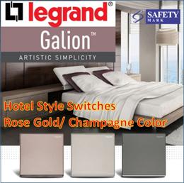 Legrand Galion Switch/Power point socket/USB port/Dimmer/Light Switch/USB Socket/ Hotel Switch