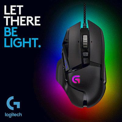 36dc6a55dcc Qoo10 - Logitech G502 Proteus Spectrum RGB Tunable Gaming Mouse ...