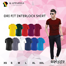 ★ DRI FIT INTERLOCK ROUND NECK ★ UNISEX/ SUITABLE FOR MEN AND WOMEN/ NEW ARRIVALS/ BEST BUY