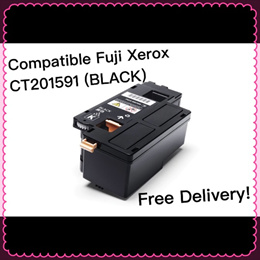 (SG Sales!) Compatible FUJI XEROX Printer Toner Cartridge CT201591 (BLACK)! For Used in DocuPrint CM205b / CM205f / CM205fe / CM215b / CM215fw / CP105b / CP205 / CP205w / CP215w