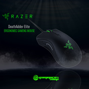Razer DeathAdder ELITE 2017 Chroma Optical Gaming Mouse. Spectrum Cycling, Breathing.Static. BETTER SENSOR and PERFORMANCE than Old DeathAdder!  2 Years Razer Warranty