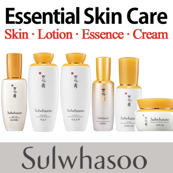 [Sulwhasoo] Essential Balancing Water lotion/ Activating Serum/Rejuvenating Eye Cream/Firming Cream Revitalizing Serum /Korea76 Cosmetics/LG Household-Health Care/Woman/Sample Deals for only S$89 instead of S$0