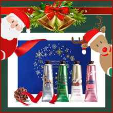 ♥Best Christmas Gifts♥ [The Saem] 2018 Holiday Edition Perfumed Hand Special Set 30ml*4