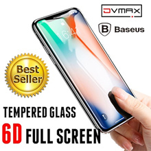 ★WORLD BEST★6D Tempered Glass★S9/S9Plus/S8/S8Plus/Note8/iPhone X/8/8Plus/7/7Plus★KnightShield/Baseus