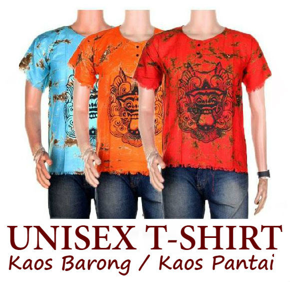 Baju Unisex Kaos Barong / Kaos Pantai Deals for only Rp29.900 instead of Rp29.900