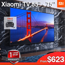 OFFICIAL RETAILER Smart android MI tv 55 - 75 inch 4K 1 Year Warranty
