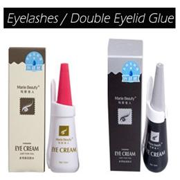 Marie beauty eye eyelash glue Double eyelid glue Black / White  Eyeliner Fake Eyelashes Glue 12ML.10