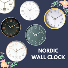 [Holiday Sales ] Nordic Wall Clock - Slient Hand Movement