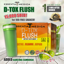 [Essentia Medica] DETOX FLUSH. Body Detoxification with added Garcinia Cambogia for Slimming.