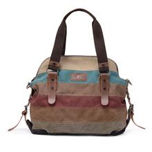 Retro Canvas Hobo Top Handle Cross Body Bag Tote Handbags w/ Shoulder Strap