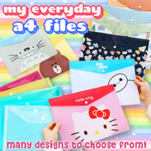 ✏️MY EVERYDAY A4 FILE✏️SCHOOL💓GIFT💓BIRTHDAY💓CORPORATE💓PLAIN THEME💓SIMPLE THEME💓CARTOON THEME