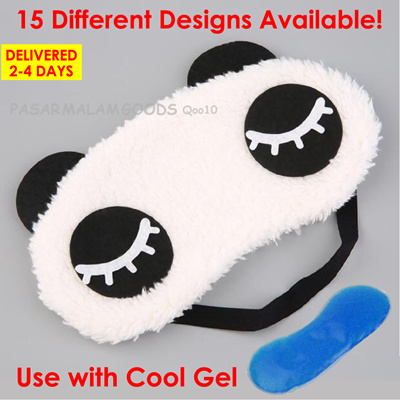Delivered 3-4 Days Panda Sleeping Eye Mask Travel Relax Sleep Ice Cool Warm Gel: 2 sold: Rating: 2: Free~: S$6.90 S$1.40