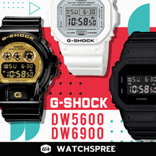 *APPLY 25% OFF COUPON* G-Shock DW5600 DW6900 Series. Free Shipping and 1 Year Warranty!
