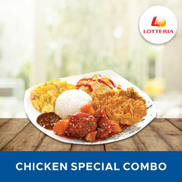 [FAST FOOD] Chicken Special Combo /Lotteria Deals for only Rp27.500 instead of Rp27.500