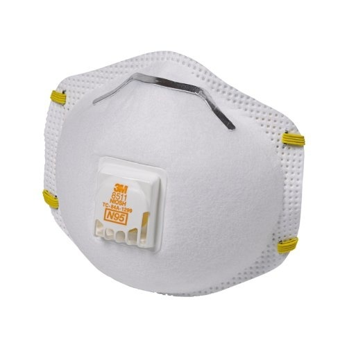 3M R8511-2 N95 Valved Sanding and Fiberglass Respirator 2-Pack