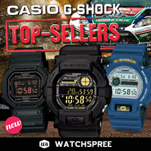 *CASIO GENUINE* CASIO G-SHOCK TOP SELLERS! GA100 DW5600 DW6900 G9000 DW9052 GA300 Free Shipping!