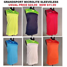 GRANDSPORT SLEEVELESS FOOTBALL SOCCER TEAM ORDER JERSEY TANK TOP T SHIRT SPORTS GRAND SPORT SINGLET