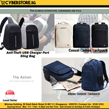 Korean Branded Back Pack For Men Women Leather Bag Laptop Bag Anti-Theft Bag Bag Accessories