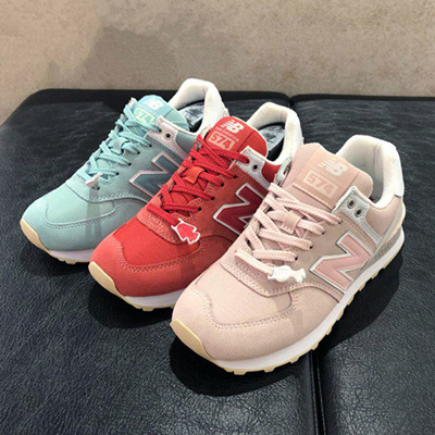 official photos 29136 354a8 New Balance 574 Womens sneakers in three colors fall