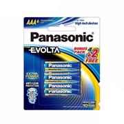 Panasonic Evolta Alkaline Battery AAA size 4pcs+2pcs Long Lasting