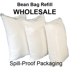 Wholesale Lowest Price Bean Bag Refill. Spill-Proof Packaging. 70L High quality Beanbag refill.