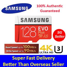 ★PC Show Special★100% Authentic Guaranteed★SAMSUNG Micro SDXC 128GB EVO Plus U3/Class 10