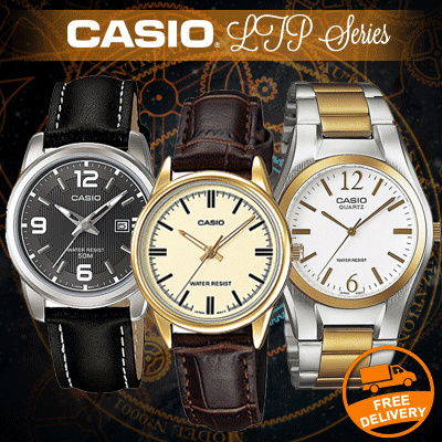 CASIO FOR MEN AND WOMEN TYPE LTP SERIES 100% AUTHENTIC / Jam tangan / Jam tangan unisex / branded watch Deals for only Rp249.000 instead of Rp249.000