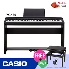 CASIO PX-160 Privia Digital Pianos | Portable Keyboard | Electronic Keyboard | Drum I Guitar